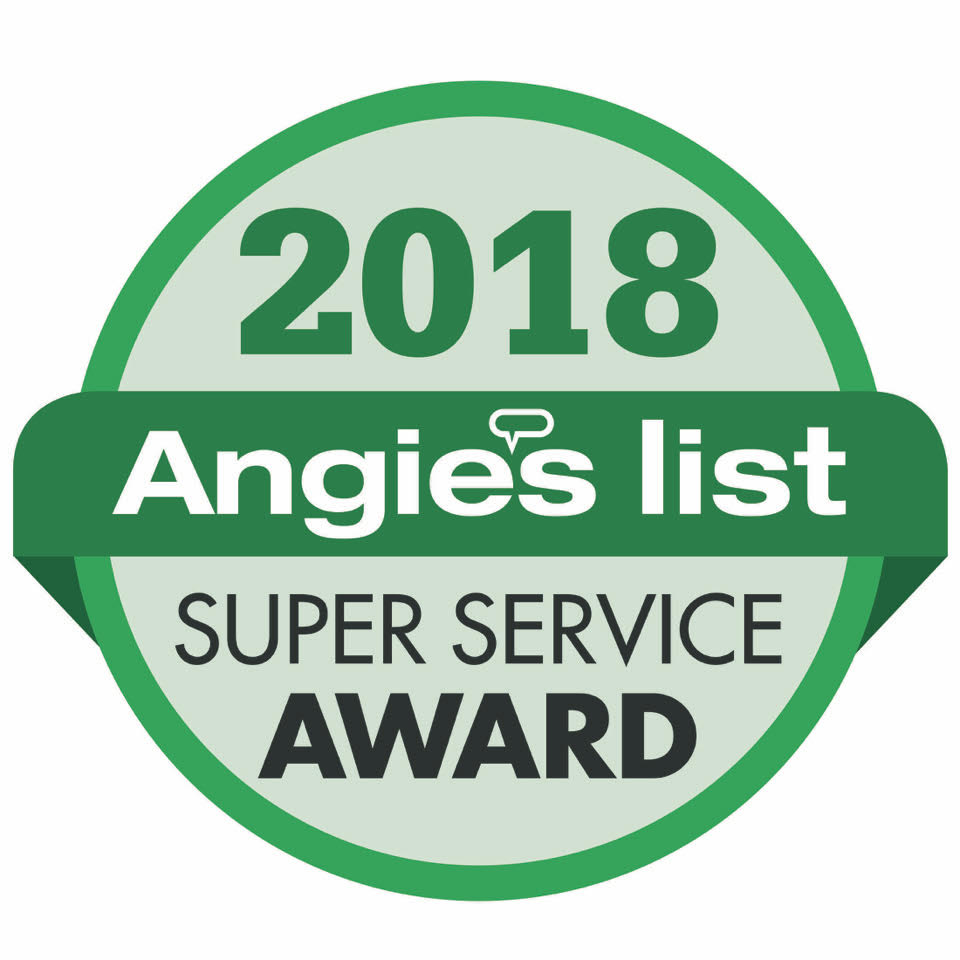 Angies List Super Service 2016-2017-2018